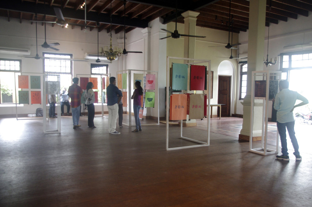Exhibition Open Day at the Dutch Burgher Union of Ceylon.