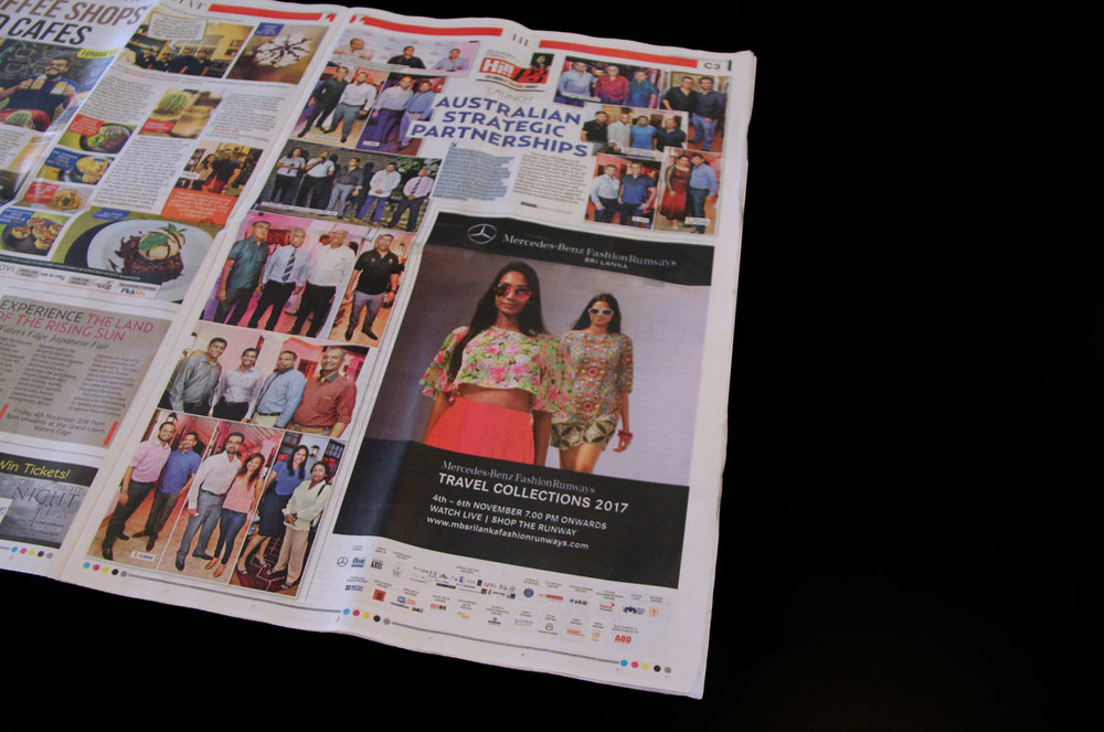 MBFR news print promotion.