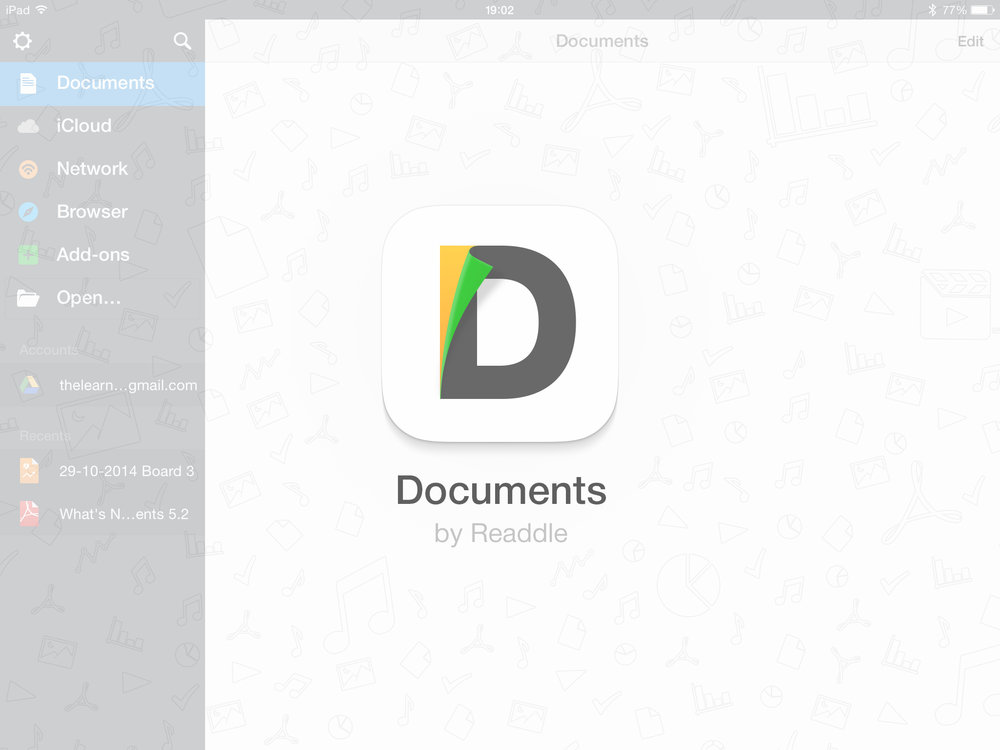 Documents app