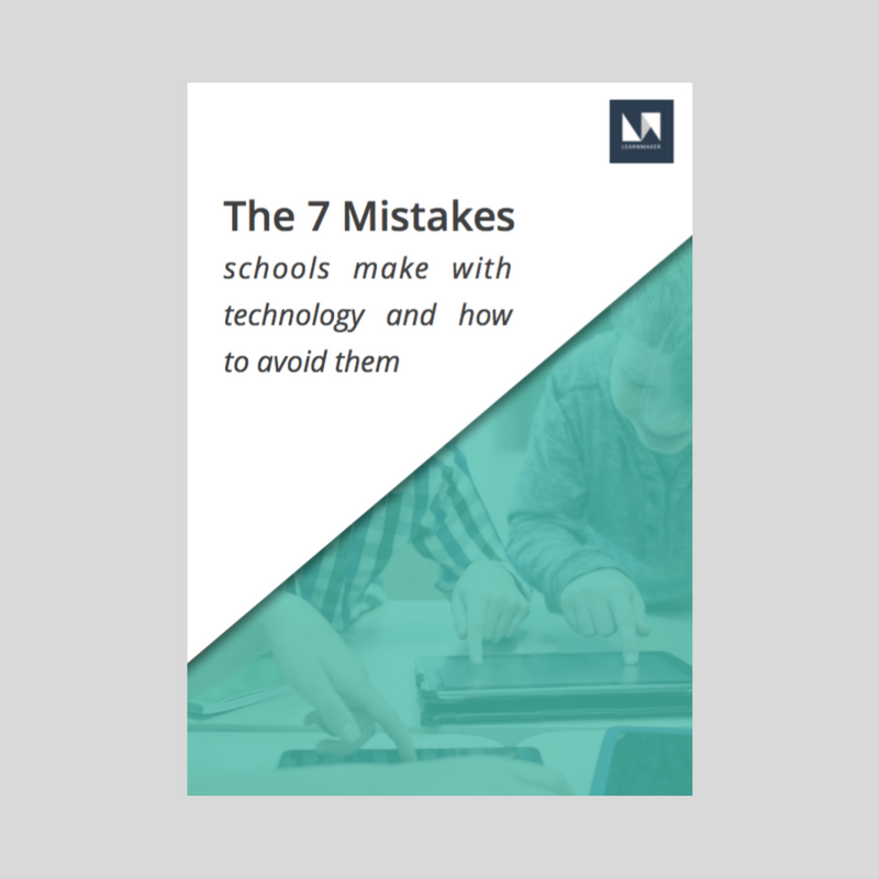 7 mistakes schools with technology