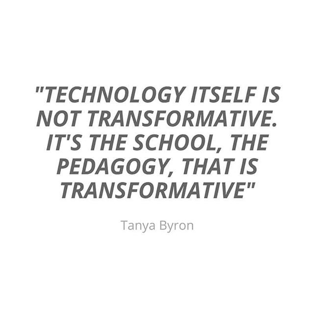 If you're buying technology with the vague goal that it will 'improve student engagement' or raise attainment then it likely won't. The part that makes the difference is the teachers and school leaders who are using it. Plan your technology