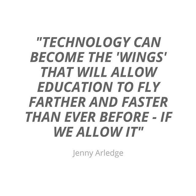 Technology isn't an add on, an event, or an activity for those who behaved. Technology is a requirement if our schools are going to reach their full potential