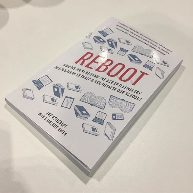 I hide a some free copies of Reboot at The London Academies Show today. Did you find them? #kpiworldtour