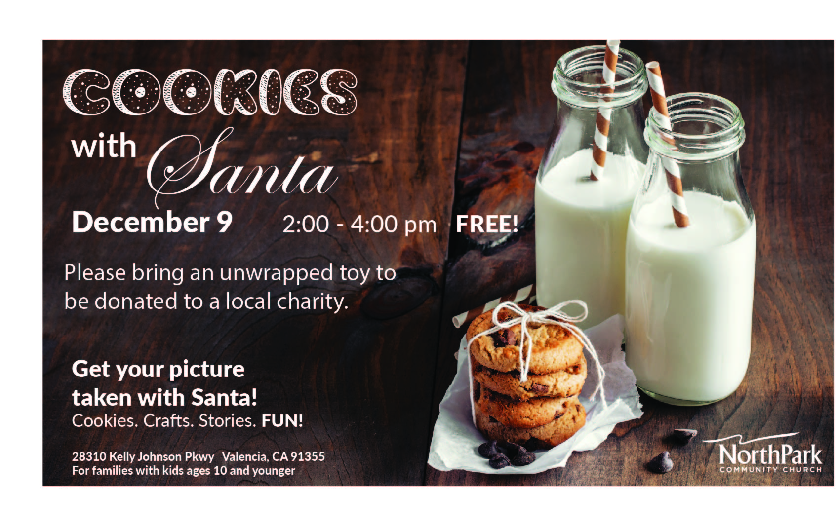 Cookies With Santa Northpark Community Church
