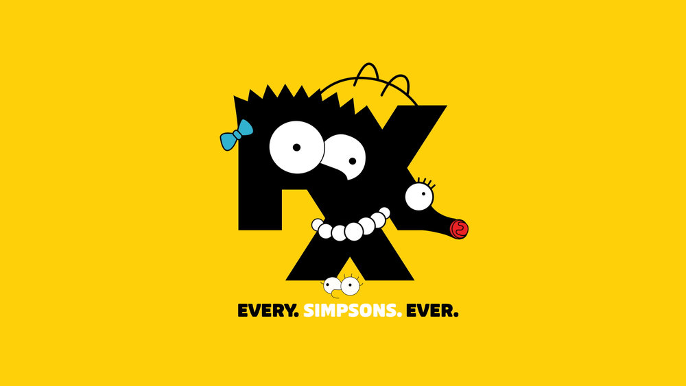 FXX Simpsons Launch Branding / Animation / Toolkit