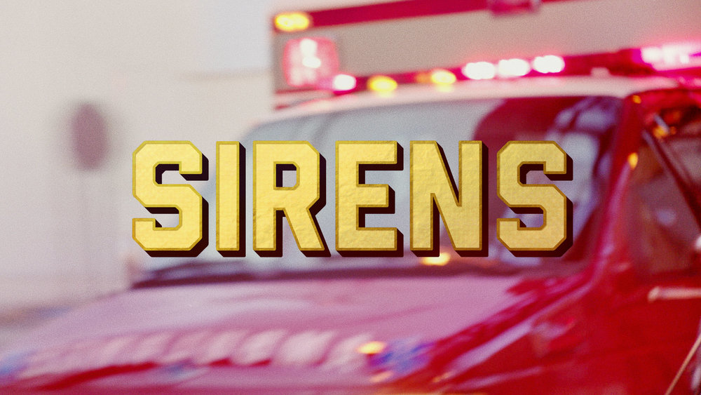 USA SIRENS Title Sequence  Direction / Animation / Edit
