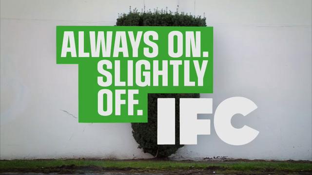 IFC Logo On A Bush