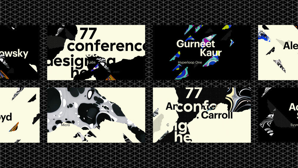 CORE77 Designing here/now CONFERENCE animation / COMPOSITING