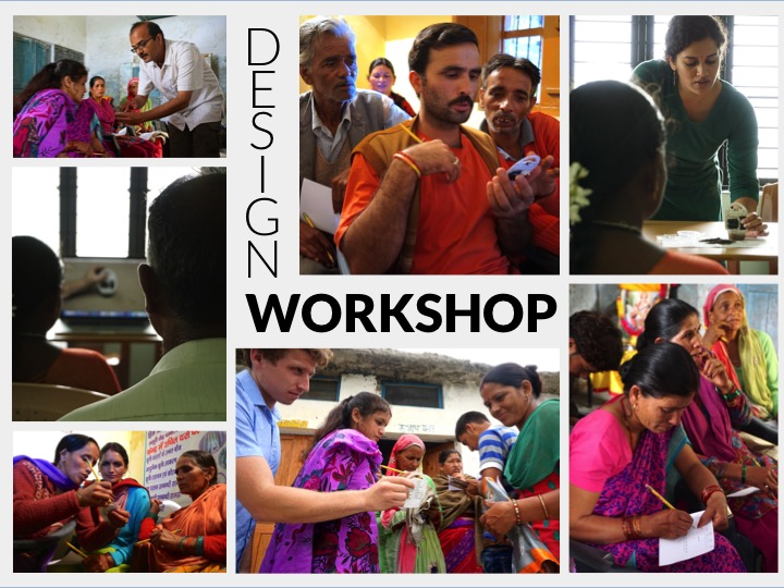 A series of photos from our 8 design workshops across North and South India.