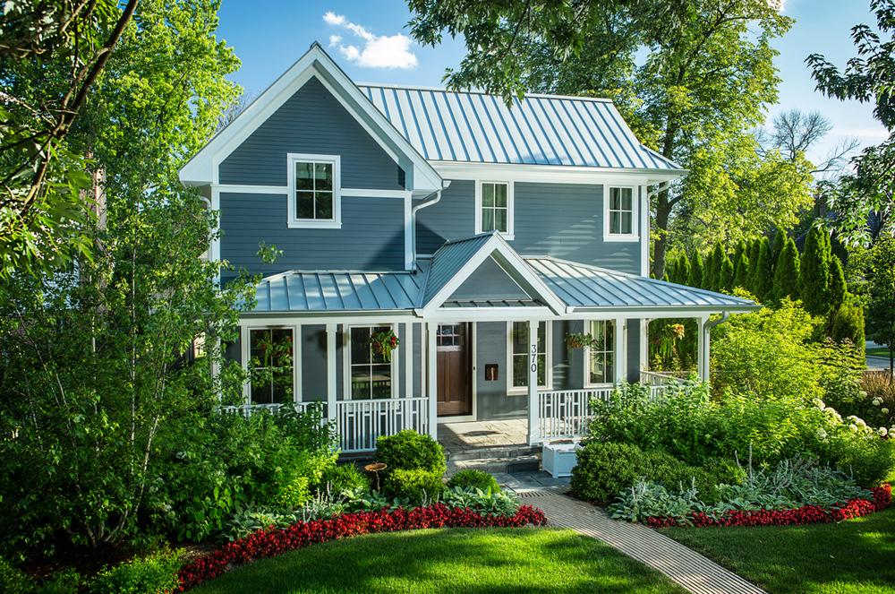 Leed Platinum Home Glencoe Kipnis Architecture Planning