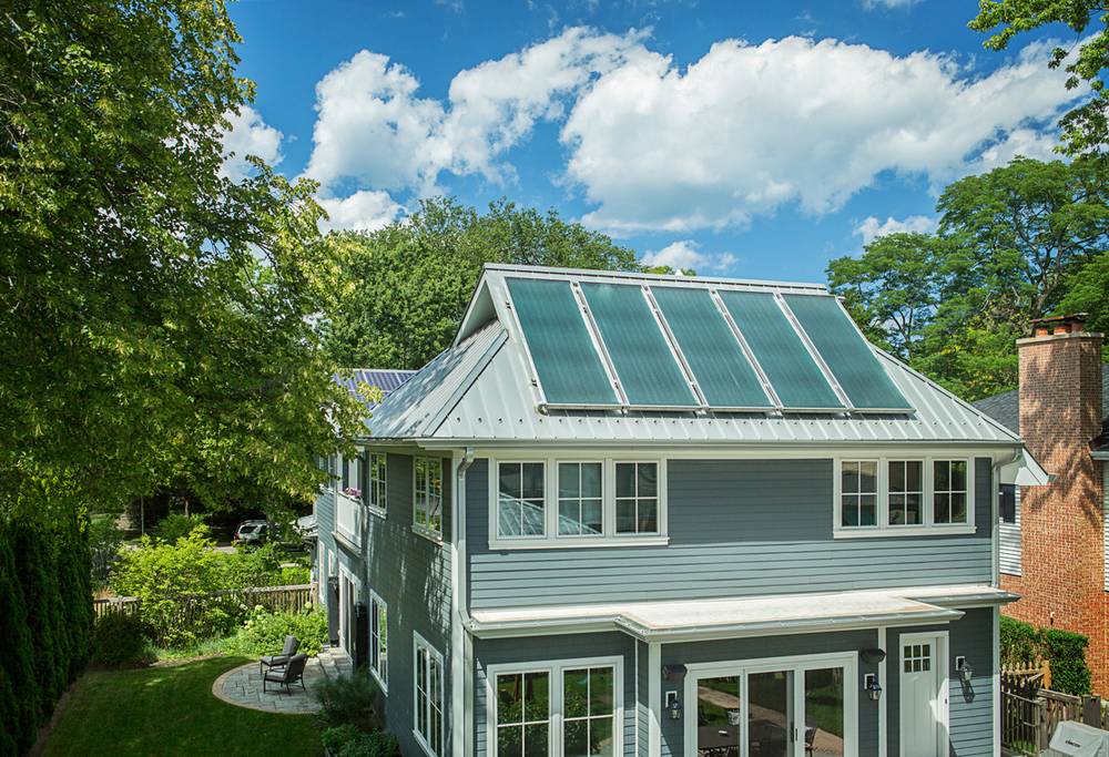 Rear Solar Panels