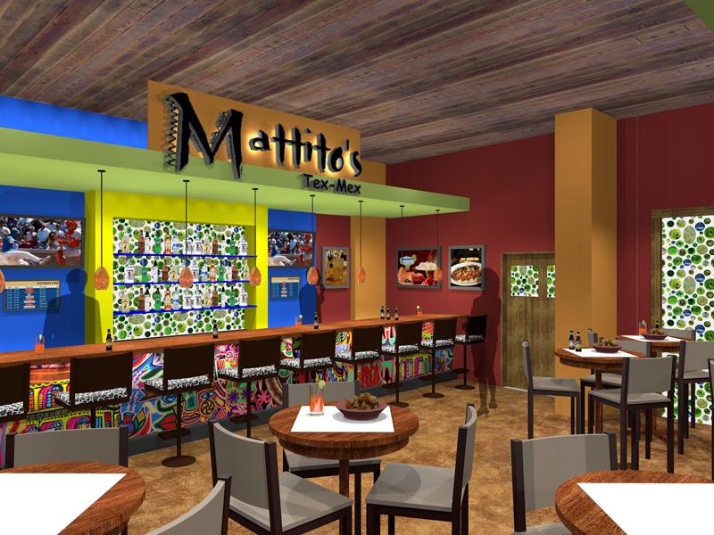 Dining Bar Area