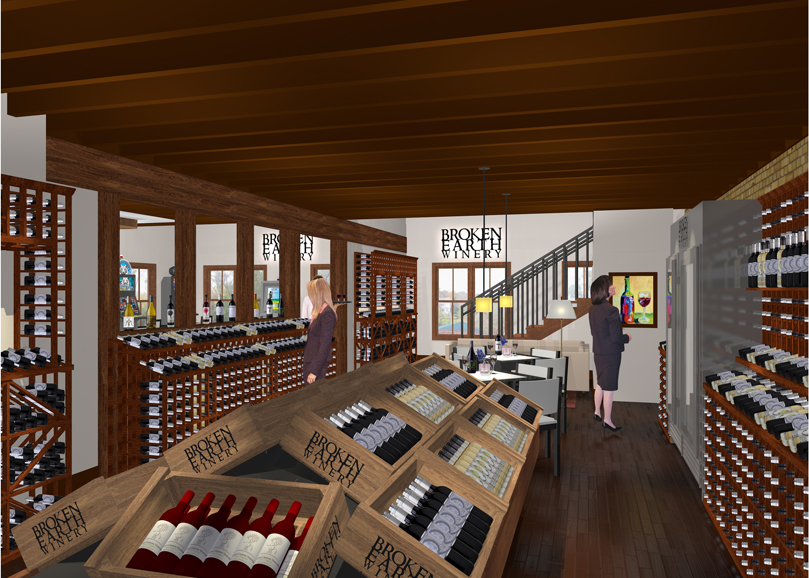 Wine Retail Area