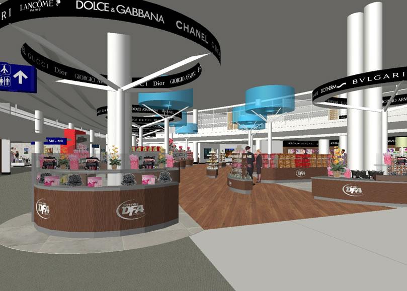 Terminal 5 Retail Design |  O'Hare