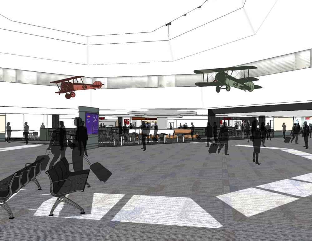 Terminal 3 Foyer