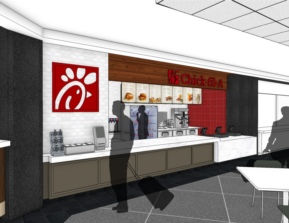 Chick Fil A Kipnis Architecture Planning