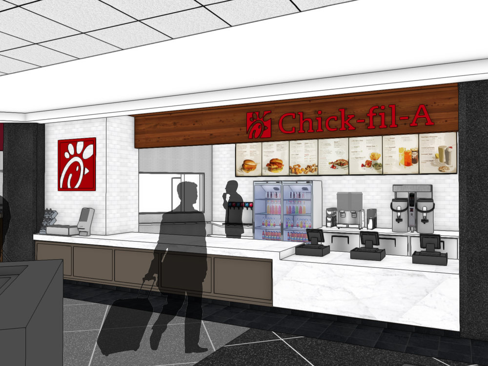 Chick fil A | San Francisco International Airport