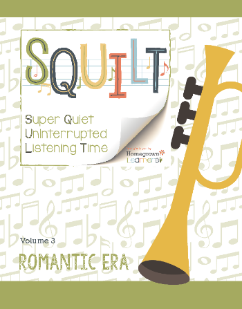 SQUILT Volume 3: Romantic Era