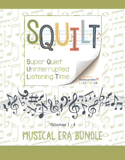 SQUILT Musical Eras Bundle
