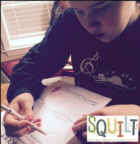 Using SQUILT in your Homeschool Morning Time