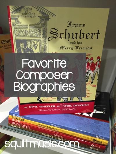 Favorite Composer Biographies