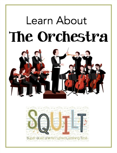 Learn About the Instruments of the Orchestra - a new resource from SQUILT Music!