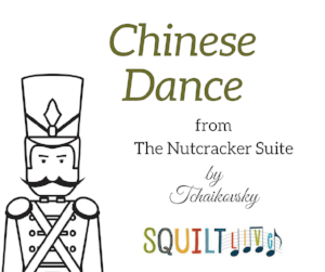 Chinese Dance from The Nutcracker -- a lesson by SQUILT LIVE!