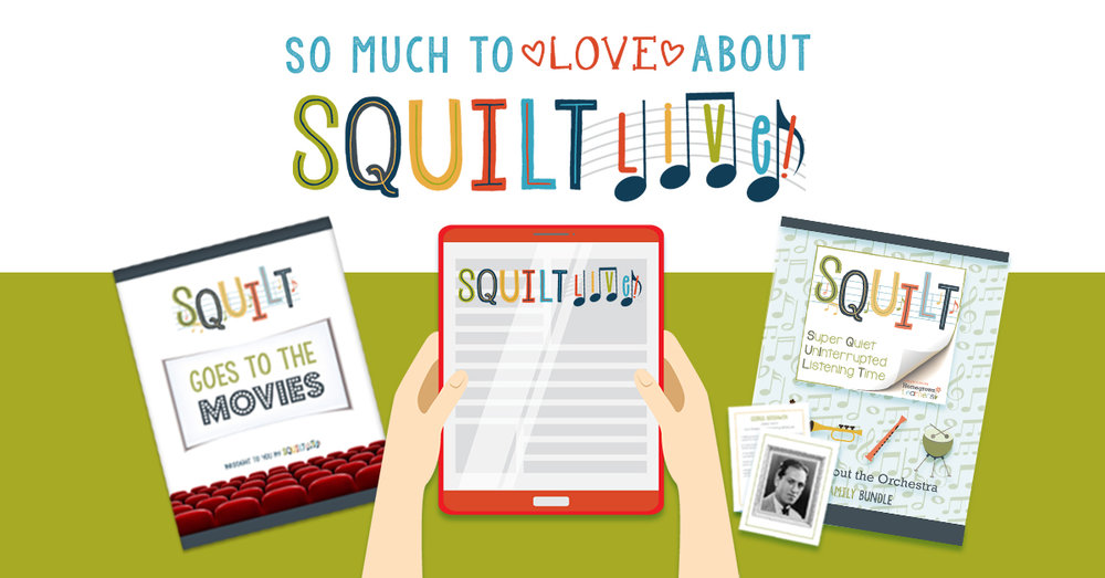 SQUILT LIVE! Music Appreciation!