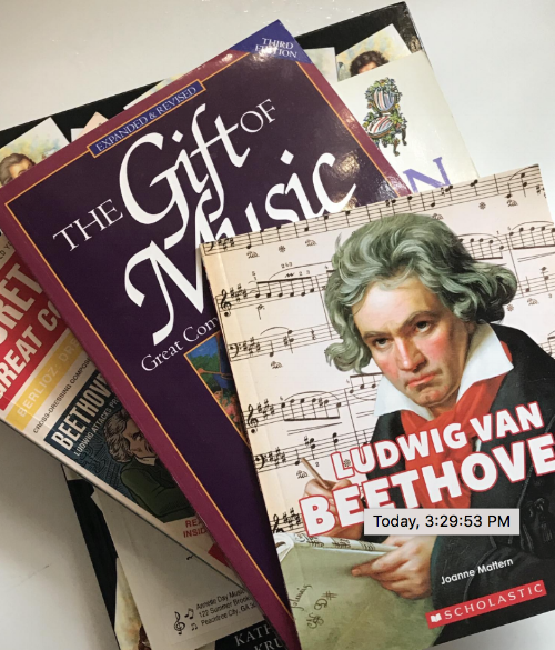 Learn About Beethoven - simple resources for children
