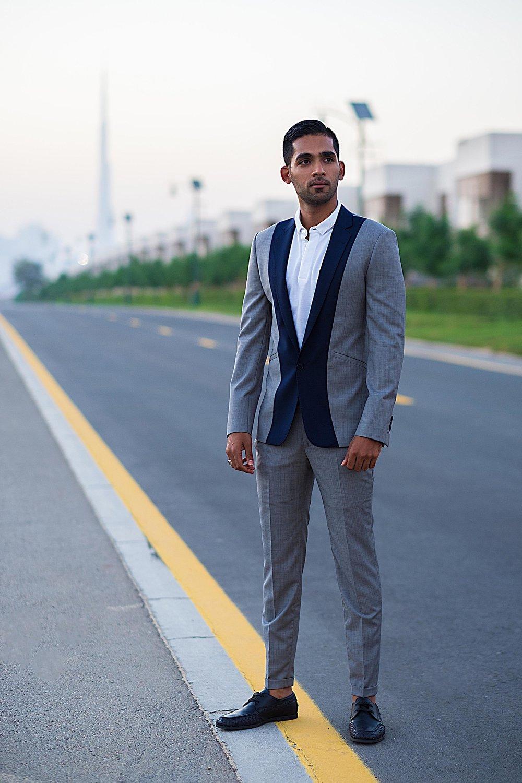 wael custom suit