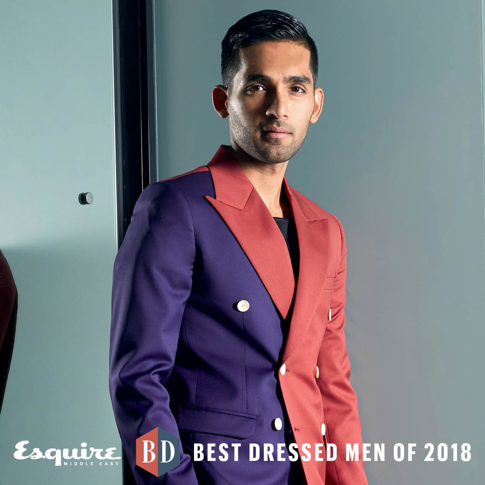esquire best dressed 2018