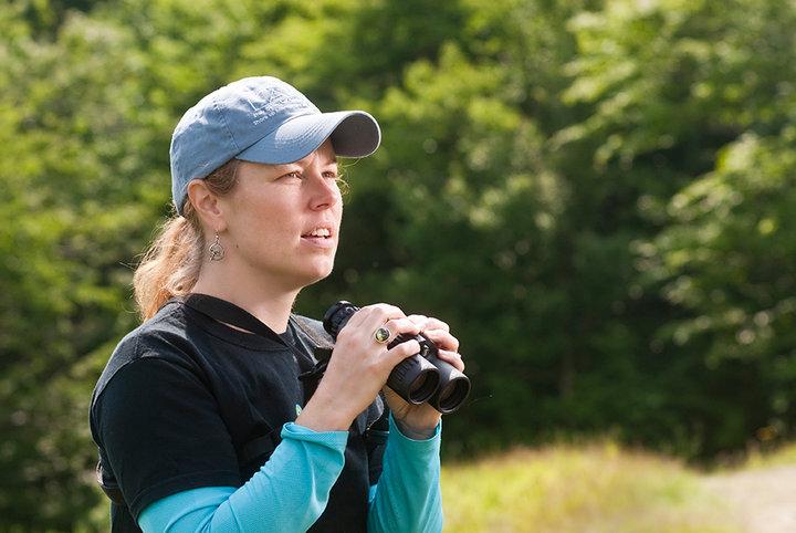 Bridget Butler, Bird Diva  Photo by Jack Rowell