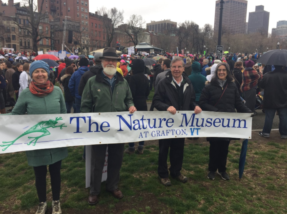 Show Up, Speak Up - We were proud to have a presence at the March for Science in Boston (as well as D.C.'s march) and the March for Climate in Montpelier.