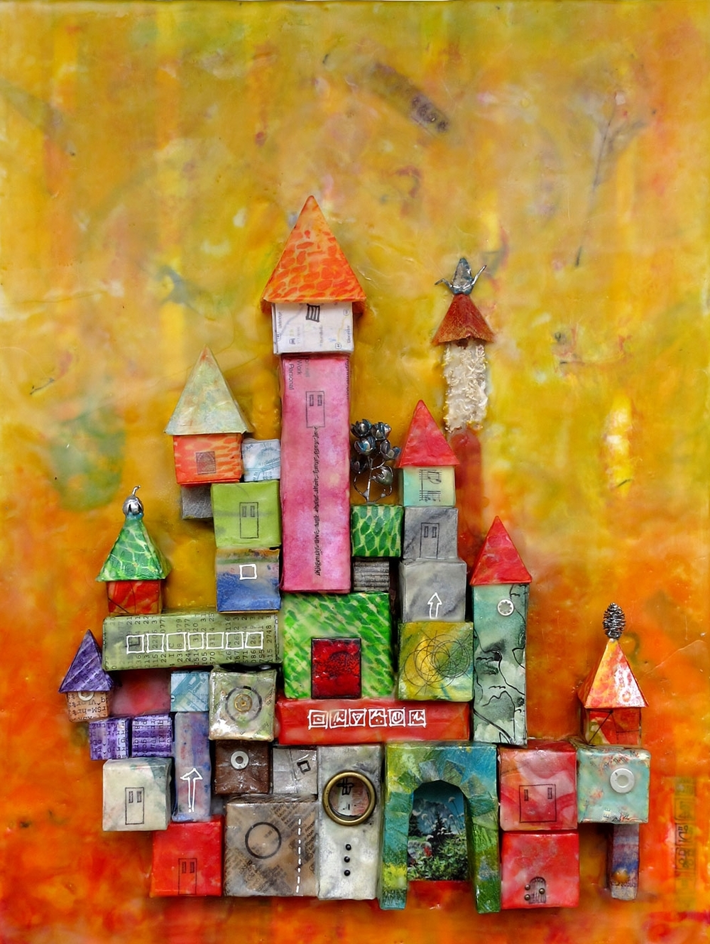 """<p><strong>JEANNE BOROFSKY</strong>encaustic, printmaking, mixed media<a href=""""/jeanne-borofsky"""">More →</a></p>"""