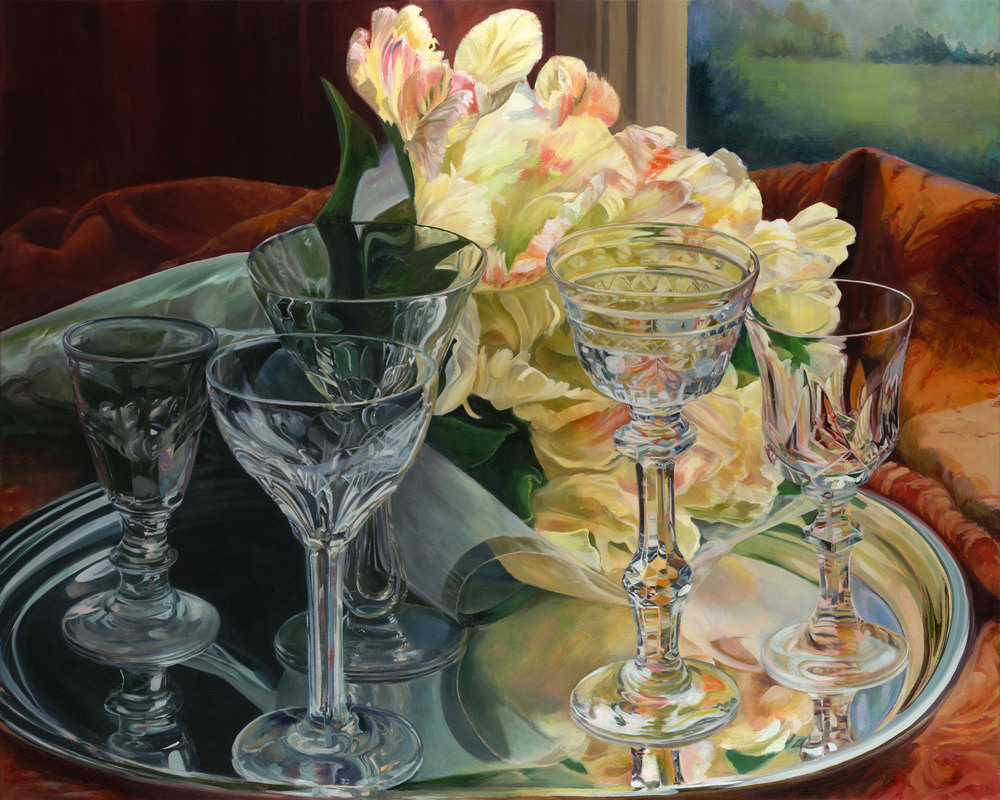 """<p><strong>B. GLEE LUCAS</strong>acrylic painting<a href=""""/barbara-glee-lucas"""">More →</a></p>"""