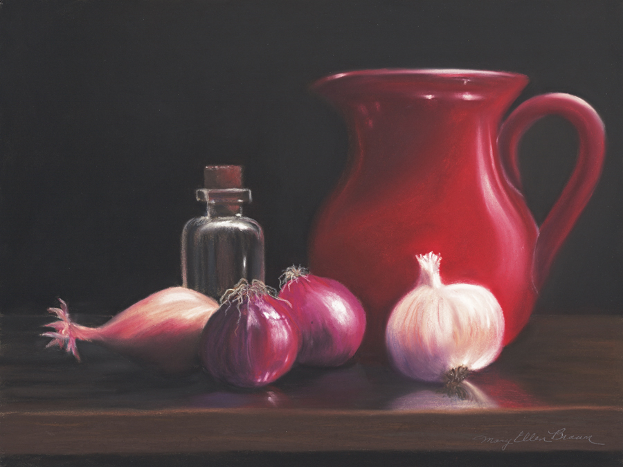 """<p><strong>MARY ELLEN BROWN</strong>pastel<a href=""""/mary-ellen-brown"""">More →</a></p>"""