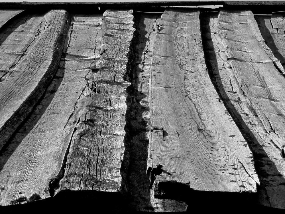 """Barn Roof"", photography, 20"" x 16"", $225 (framed)"