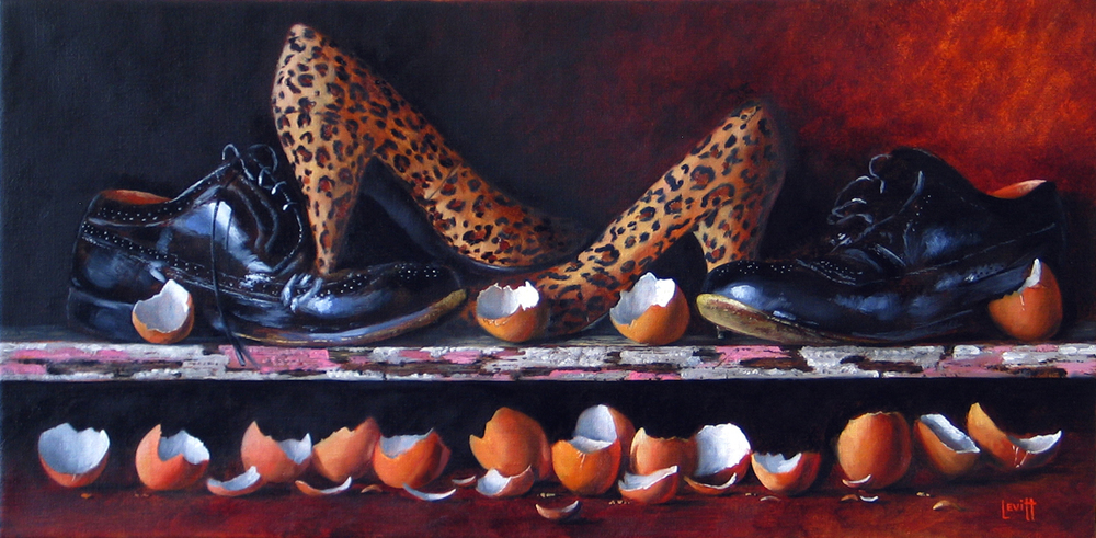 Copy of Walking on Eggshells - SOLD