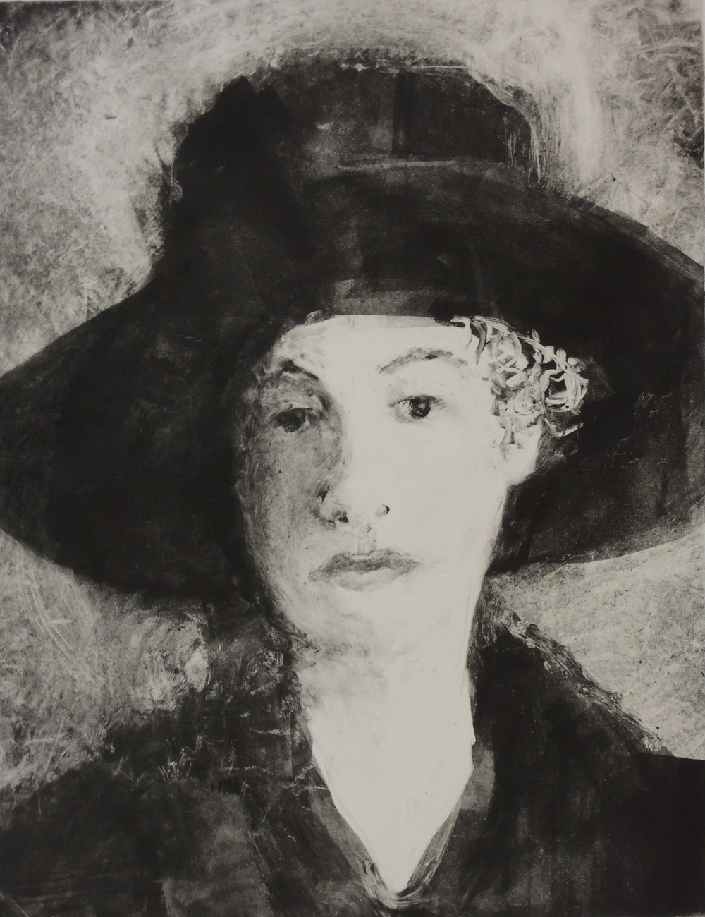 Esther Wearing her Hat