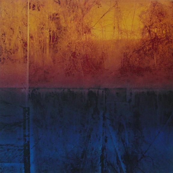"""Cutler Park #3, monoprint, 20"""" x 20"""", $500"""