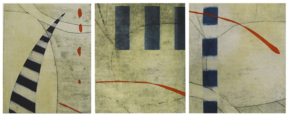 Circio Suite (triptych), SOLD