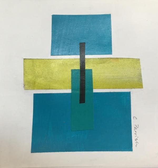 "untitled, mixed media, 8"" x 8"", $95 (framed)"