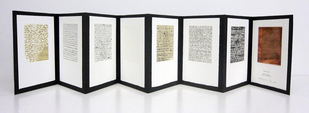"""""""Mortal Hand"""", artist book, 7 x 10"""", $600"""