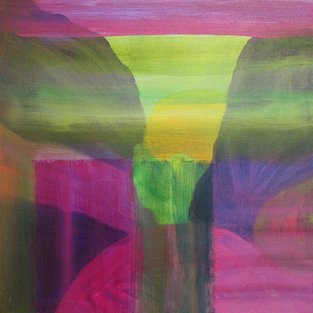 """""""Napa Valley"""", acrylic, 18 x 18"""", $700"""