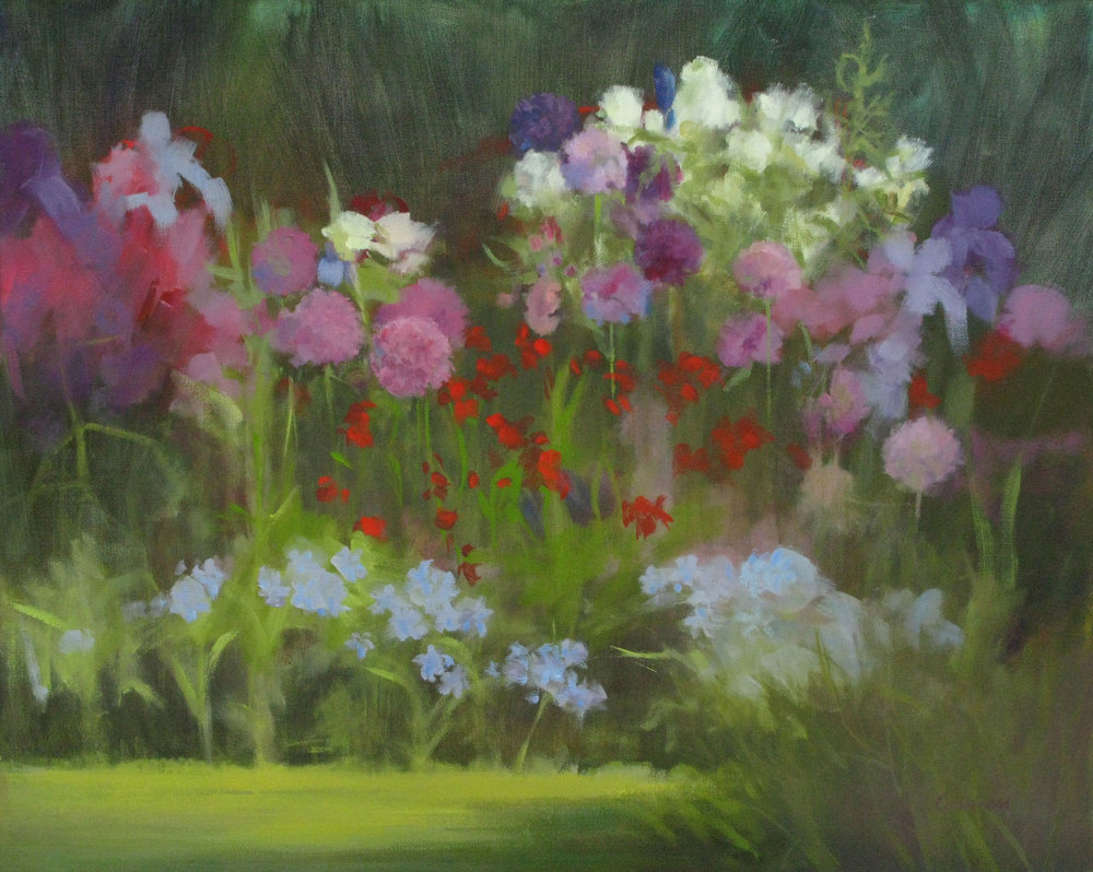 Cassinari_GardenBed,Giverny_oil_24x30_$1200.jpg