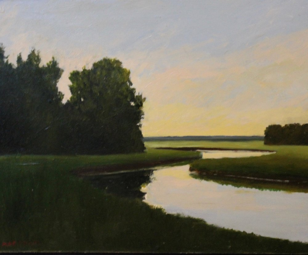 """Chubbs Brook"", oil, 11"" x 14"", $400 SOLD"