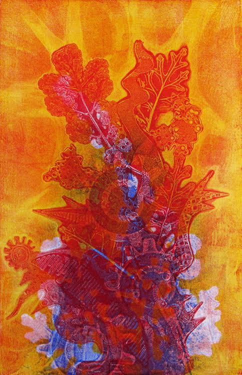 Tamar Etingen, gelatin print