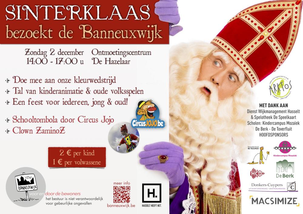 Banneuxwijk VZW Hasselt Sinterklaas 2018 - OC De Hazelaar