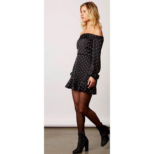 Dot your Babe Dress 💁🏼♀️ • $48 • #newarrival #pokadotskeepemcoming