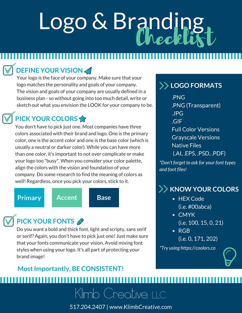 Free Branding Checklist